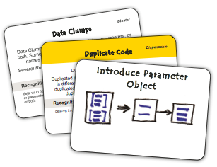 Parameter Object Refactoring Cue Card
